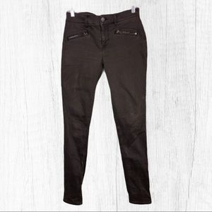 Express Jeans Mid Rise Brown Legging Size 2